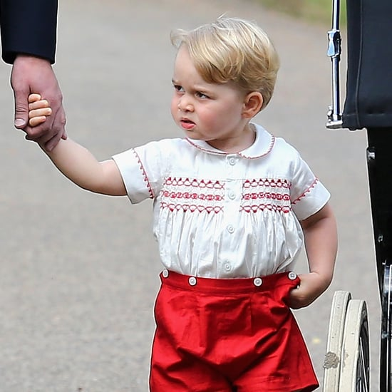 Prince George Looks Like Prince William