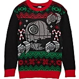 Jem x Star Wars Death Star Musical Holiday Sweater