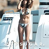 Penélope shaded her face from the sun while lounging on a yacht during an August 2006 trip to Ibiza.