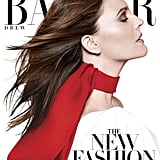 Drew Barrymore on the cover of Harper's Bazaar's subscriber cover for the March 2013 issue. Source: Daniel Jackson for Harper's Bazaar