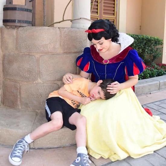 Snow White Helps Boy With Autism at Disney World