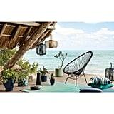 Outdoor Black Acapulco Chair
