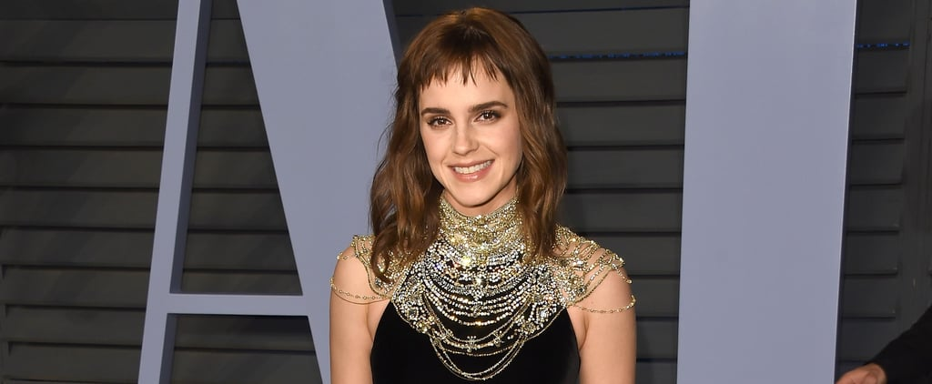 Emma Watson Time's Up Tattoo at Oscars Afterparty 2018