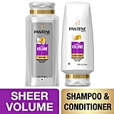 Pantene, Shampoo and Sulfate Free Conditioner Kit, Pro-V Sheer Volume for Fine Hair
