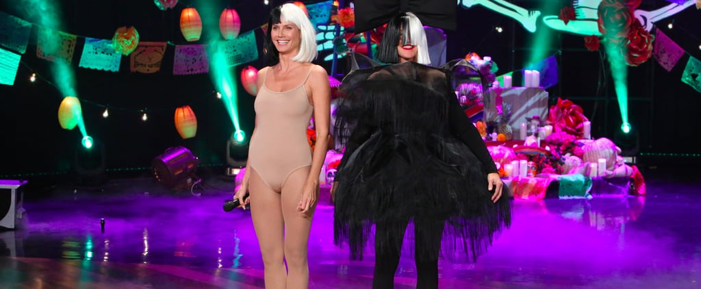 Ellen DeGeneres Probably Can't Even See How Amazing Her Sia Costume Is