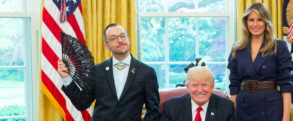 Gay Teacher Delightfully Shades Trump With Official White House Photos