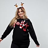 Club L Plus Jolly Christmas Jumper
