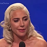 "When Gaga Tearfully Thanked Bradley For Being a ""Magical Filmmaker"""
