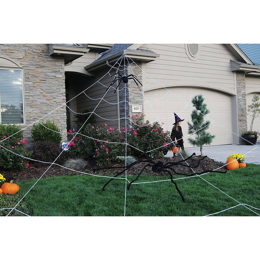Mega Outdoor Spider Web ($20) | Halloween Porch Decorations on ...