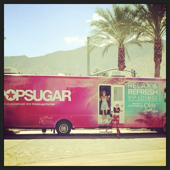 POPSUGAR Relax and Refresh Lounge: Weekend-One Snaps!