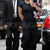 Pink with Willow in New York.