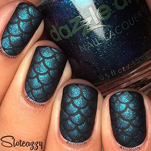 Whats Up Nails In Scale Mermaid Nail Stencils Stickers Vinyls For