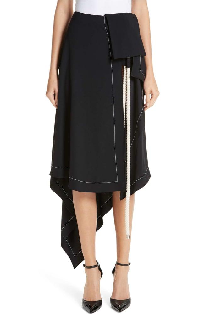 Monse Rope-Detail Asymmetrical Skirt