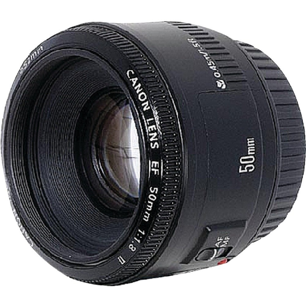 Canon EF 50mm f/1.8 Lens