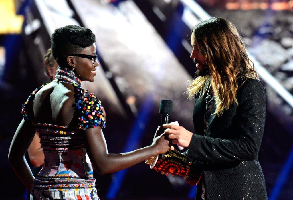 Lupita Nyong'o and Jared Leto Pair Up at Her First MTV Movie Awards