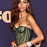 Zendaya's Hair Colour at the Emmy Awards