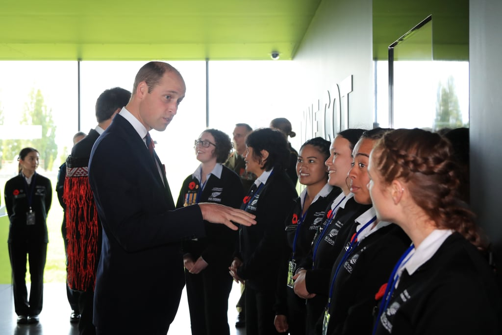 Prince William at New Zealand Commemoration Event 2017