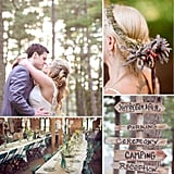 Give Your Wedding Some Summer Camp Love If you're planning an outdoor wedding, then having it at a Summer camp could be an affordable and fun option. The natural setting — be it redwood trees or a glistening lake — requires little more than some handpicked wildflowers to make it wedding-ready. But really, the sky's the limit. So check out these rustic camp ideas for your big day, and don't forget your canoe and binoculars!