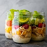 Ranch Chicken Jar Salads