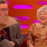 Miriam Margolyes Talks About Laurence Olivier (NSFW)