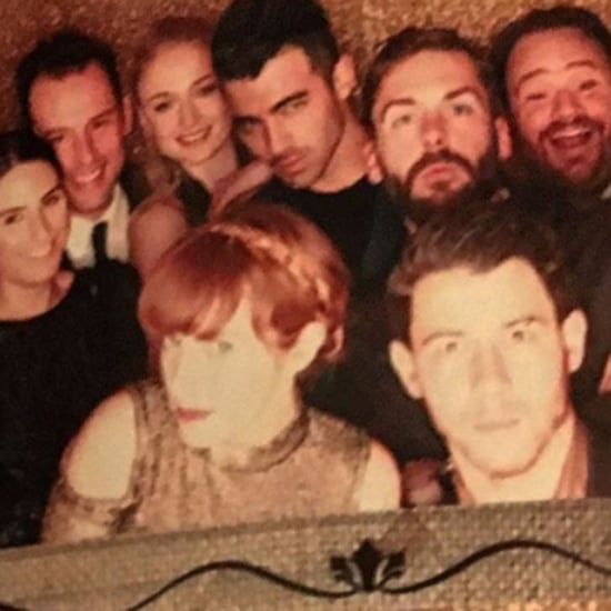 Joe Jonas and Sophie Turner at Wedding Together Nov. 2016