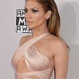 Jennifer Lopez's Slicked-Back Hair in 2014