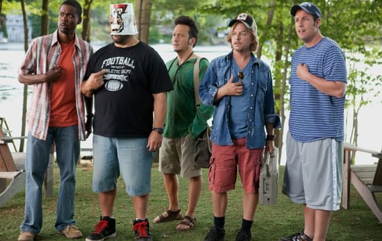 Review of Grown Ups Starring Adam Sandler, Chris Rock, and Salma Hayek