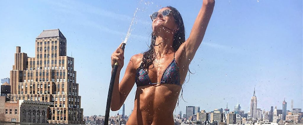 This VS Model and Baywatch Star Flaunts Her Sexy Body on Instagram