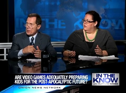 The Onion Satire Video Asks if Video Games Are Preparing Kids For the Apocalypse