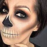 Skull — @Cflowermakeup