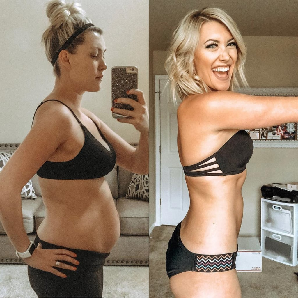 Before and after weight loss inspiration amusing message