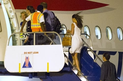 Prince William and Kate Middleton left the West Indies with Pippa Middleton.