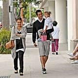 Jessica Alba Has Honor to Celebrate Birthday and Mother's Day All Weekend Long