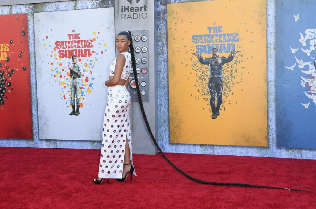 Storm Reid at the Suicide Squad Premiere in Los Angeles