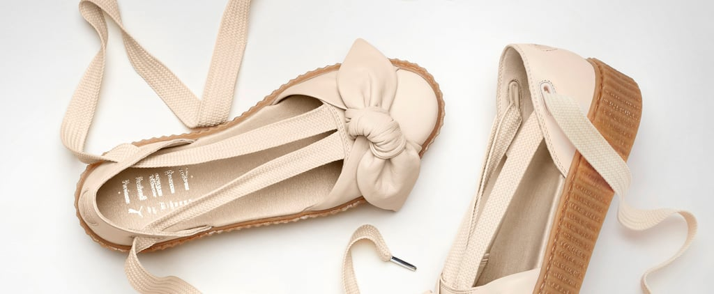 Rihanna Is Back With the Fenty x Puma Shoe of the Summer and Bows Are Here to Stay