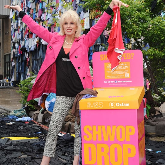 Marks & Spencer Launch Shwop Drop Shwopping With Joanna Lumley
