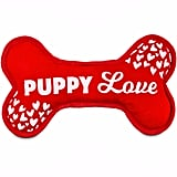 Love My Pup Puppy Love Plush Bone Dog Toy ($8)