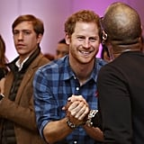 Prince Harry Visits NAZ in London November 2016