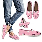 Minnie Mouse-Inspired Pink Mouse Casual Shoes