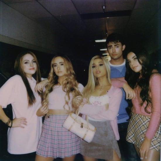 Lindsay Lohan Throws Shade at Ariana Grande