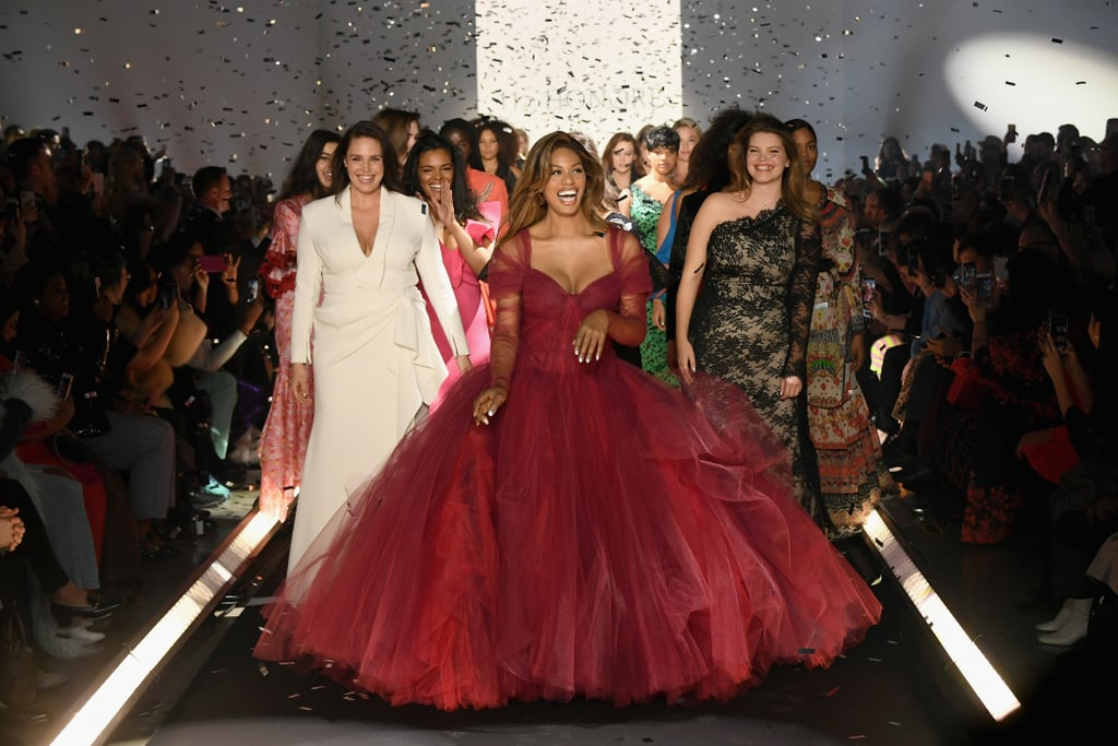 This Zac Posen Dress Is Meant For Twirling, as Proven by Laverne Cox and Miley Cyrus