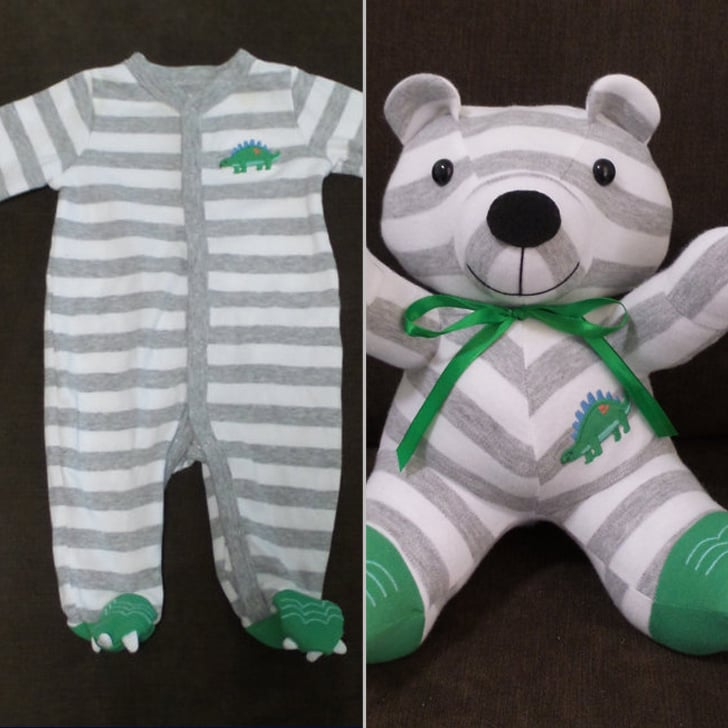 Recycling Baby Onesies Into Stuffed Animals