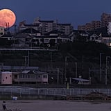 Another view of a supermoon.
