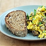 Scrambled Eggs With Wild Mushrooms