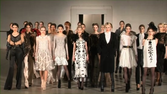 Temperley London Fall 2011 Runway London Fashion Week
