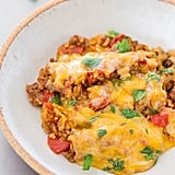 One-Pot Cheesy Mexican Beef and Rice