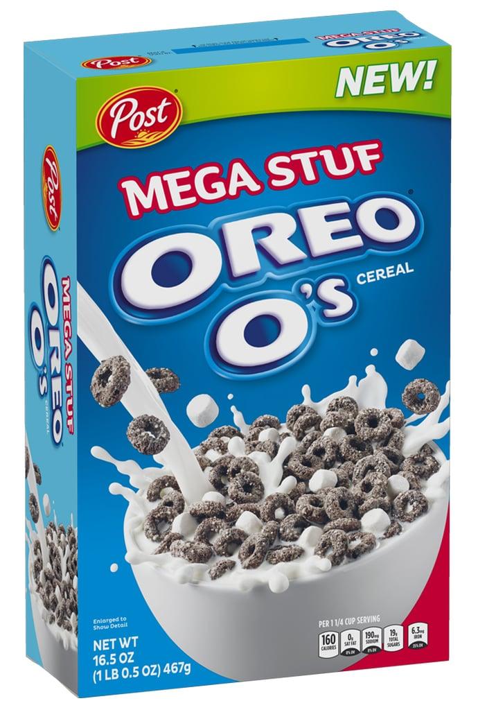 Post Oreo O's  Mega Stuf Cereal
