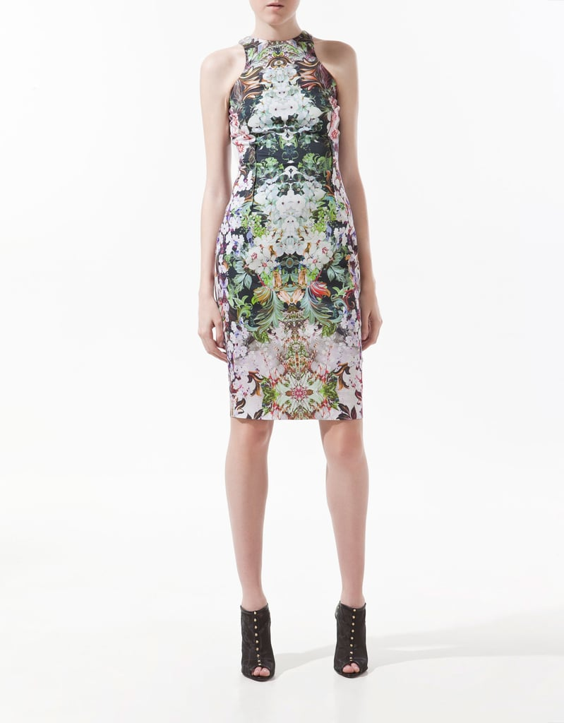 Besides the perfectly on-trend print, we love the way the sexy racerback fit shows off our shoulders. This dress would be an awesomely versatile selection for any Summer wedding.  Zara Floral Print Dress ($90)