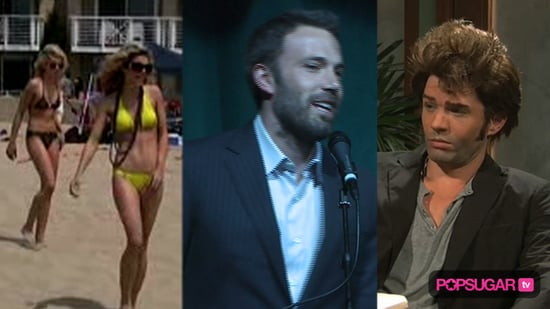 Video of AnnaLynne McCord in a Bikini, Ben Affleck and Jennifer Garner Video, and Ryan Phillippe on Saturday Night Live