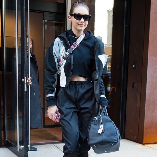 Gigi Hadid's Prada Combat Boots